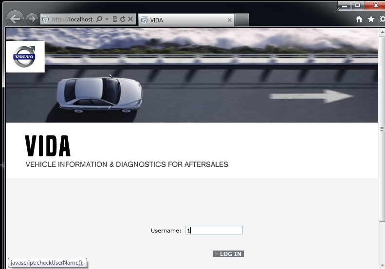 Volvo VIDA 2014D OBDII Diagnostic Tool