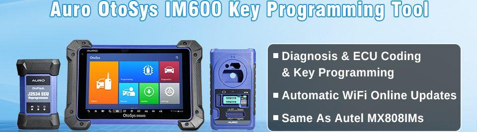 auro otosys im600 key programming
